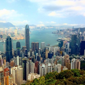 A climb up Victoria Peak, Hong Kong is a great workout