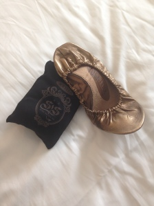 Folding slippers