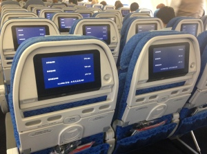 Economy Class on Cathay Pacific