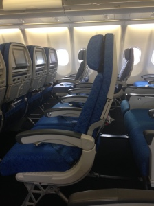 Cathay Pacific New Style Seats