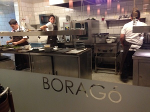 The kitchen at Borago