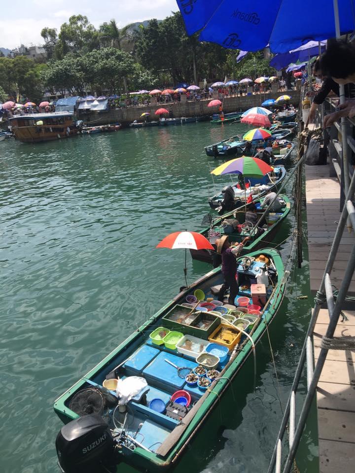 Fishermen at Sail Kung