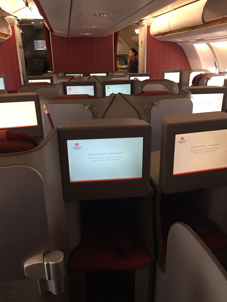 Hong Kong Airlines Business Class