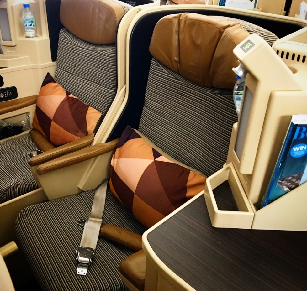 EY Business Class Seat