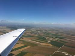 Soaring above France